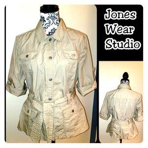 Jones Wear Studio Tops - Jones Wear Studio Shirt/Blazer